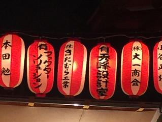 玉造稲荷神社・夏祭り