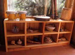 8 repisa instrumentos