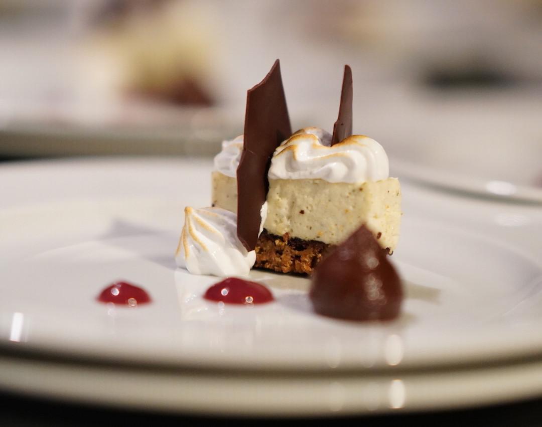 Dessertkreation Dreierlei