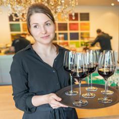 Dreierlei Wine Service in Action.JPG
