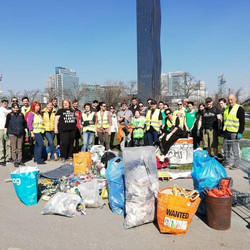 Donauinsel clean up