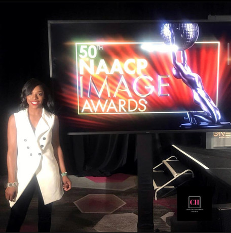 Dominique Clark at the 50th NAACP Image Awards