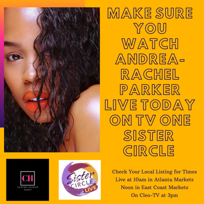 Andrea-Rachel Parker on TV One Sister Circle Live Promo