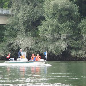 Fahrt zum Rhein
