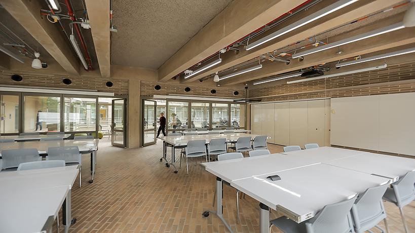 Edificios de Arquitectura Bloque C, Aulas, Santo Domingo. Universidad de Los Andes
