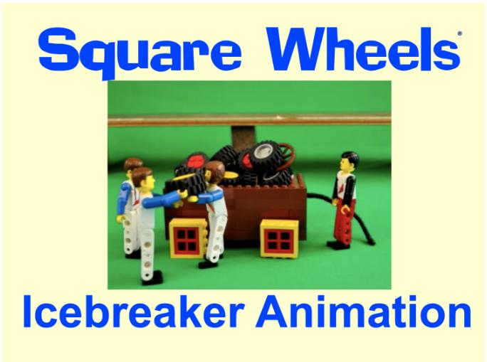 SQUARE WHEELS LEGO ICEBREAKER TOOLKIT