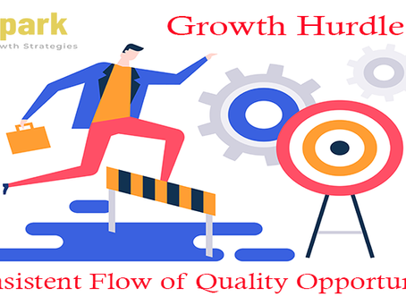 Growth Hurdle # 1 - Consistent Flow of Quality Opportunities