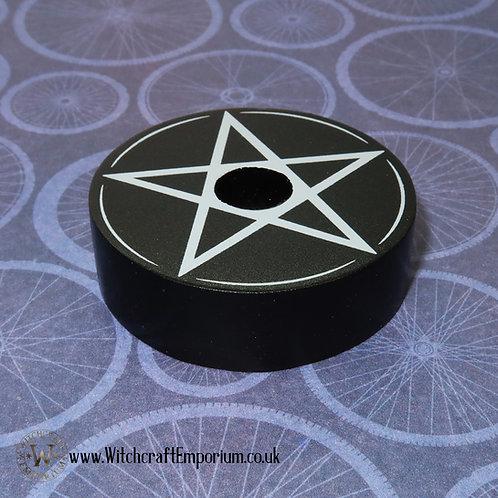 Pentagram Spell Candle Holder