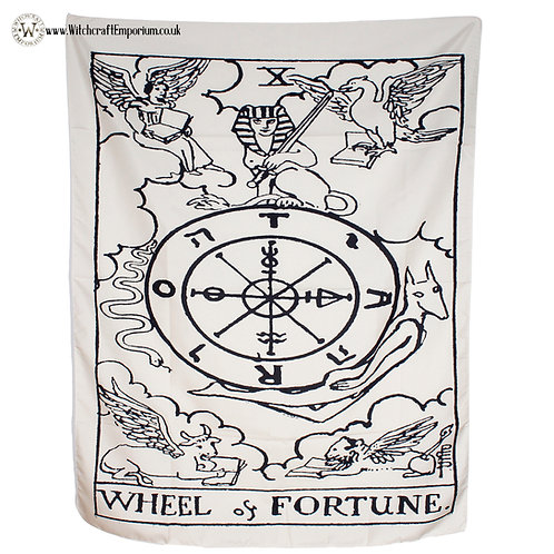 Wheel of Fortune Wall Tapestry