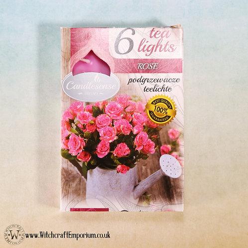 Rose Tealight Candles