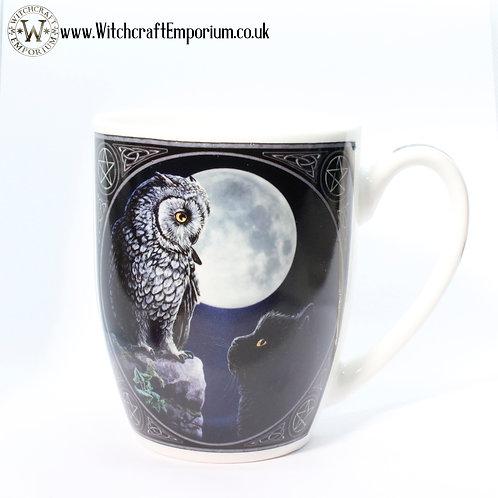 Owl & Cat Mug