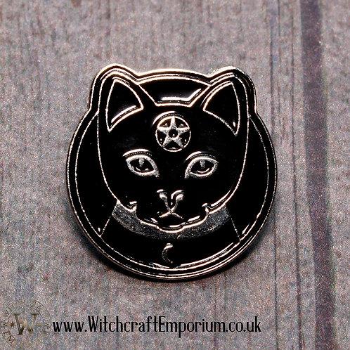 Magic Black Cat Pin
