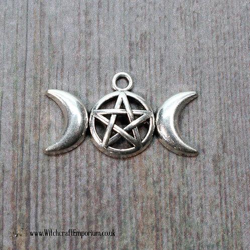 Triple Moon Charm