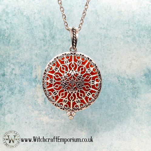 Mandala - Aromatherapy Pendant