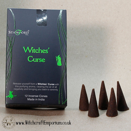Witches' Curse Incense Cones