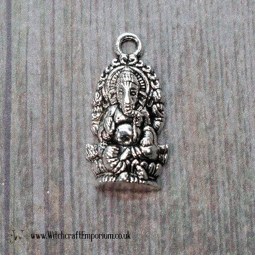 Ganesh Silver Charm