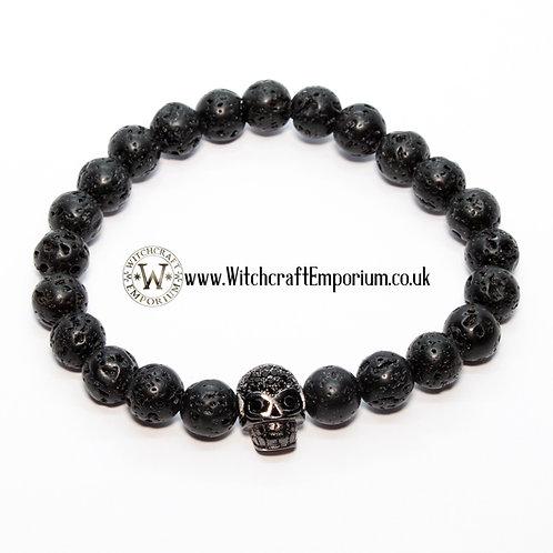 Black Skull Gemstones