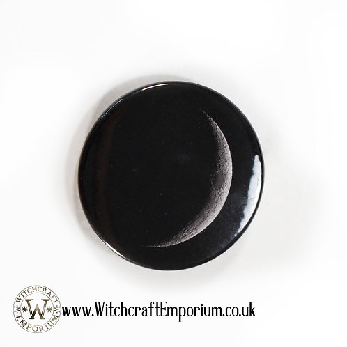 Crescent Moon Badge