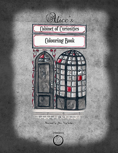 Alice's Cabinet of Curiosities – Colouring Book
