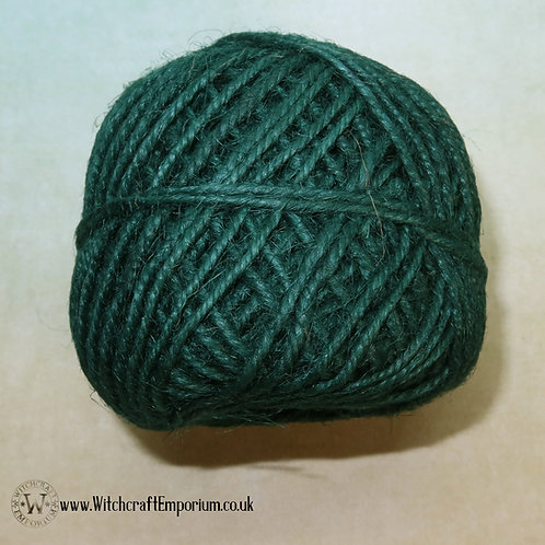 Natural Twine Cord (GREEN)