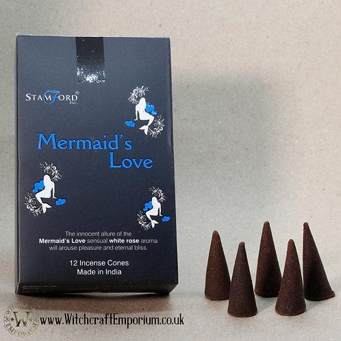 Mermaid's Love Incense Cones