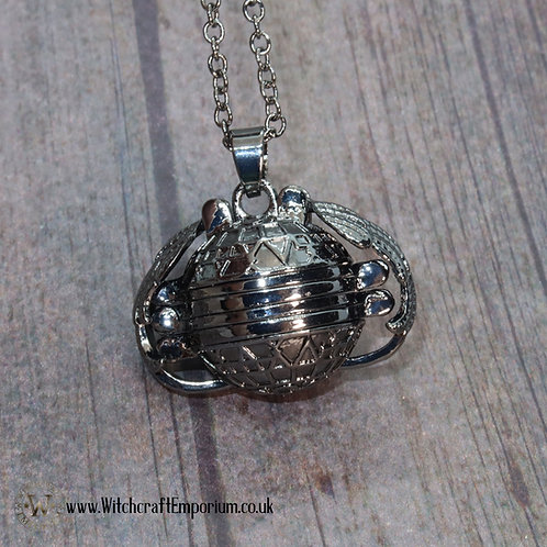 Winged Sphere Locket