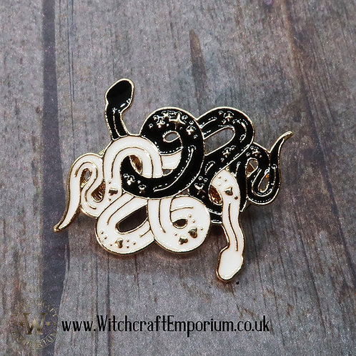 Astral Snakes Pin