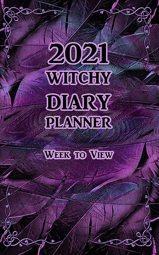2021 Witchy Diary Planner - Week to View