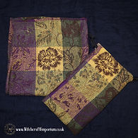 Traditional FLoral Wool Tarot Pouch Alta