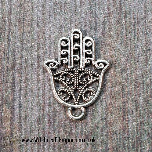 Fatima's Hand Silver Charm
