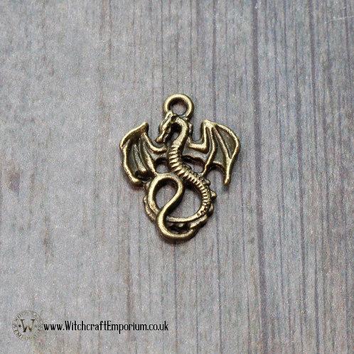 Dragon Bronze Charm