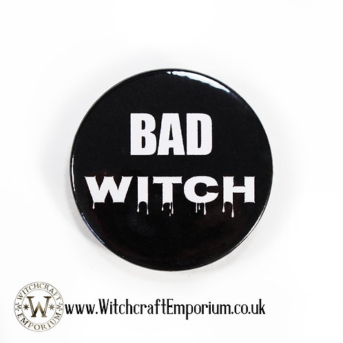 Bad Witch Badge