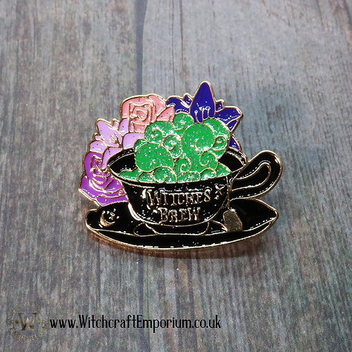 Witch's Brew Teacup Pin