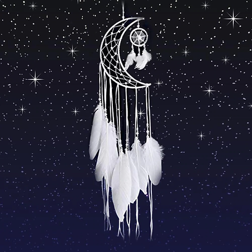 Moon Goddess Dream Catcher
