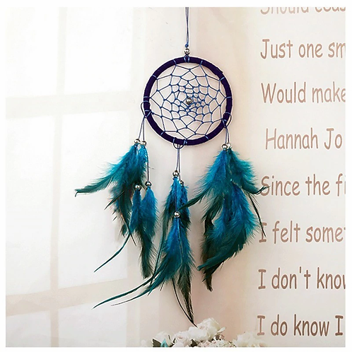 Blue Paradise Dream Catcher