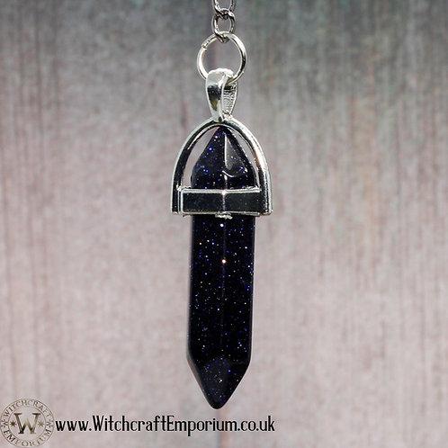 Blue Sandstone Dowsing Pendulum