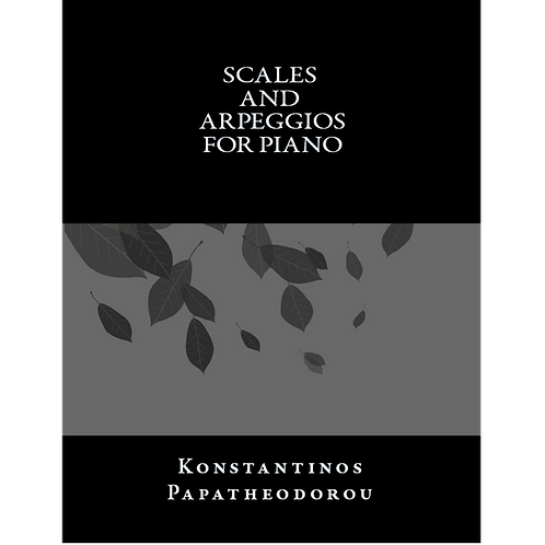 Scales and Arpeggios for Piano
