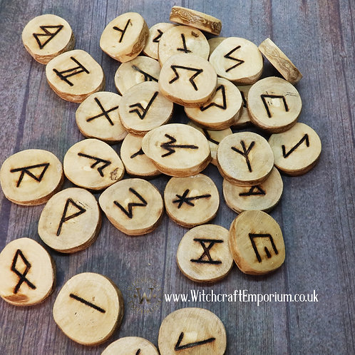 Traditional Saxon Runes