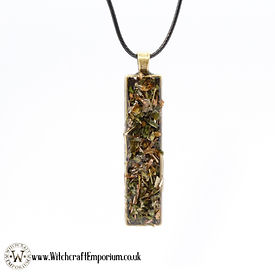 Protection - Herbal necklace pendant Jew