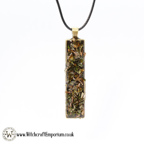 Protection Herbal Pendant