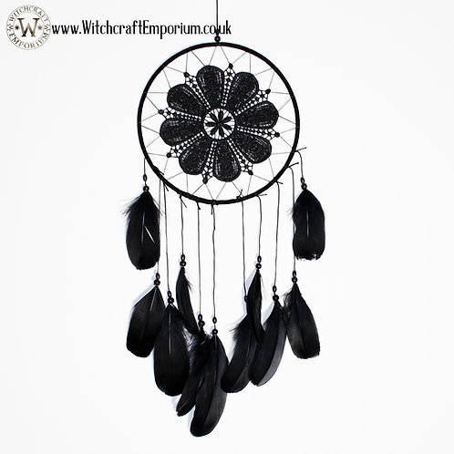 Black Lace Dream Catcher