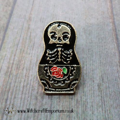 VooDoo Russian Doll Pin