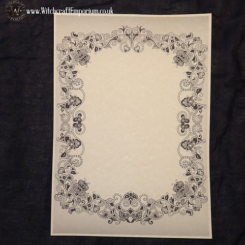 Ornate Parchment Paper #3