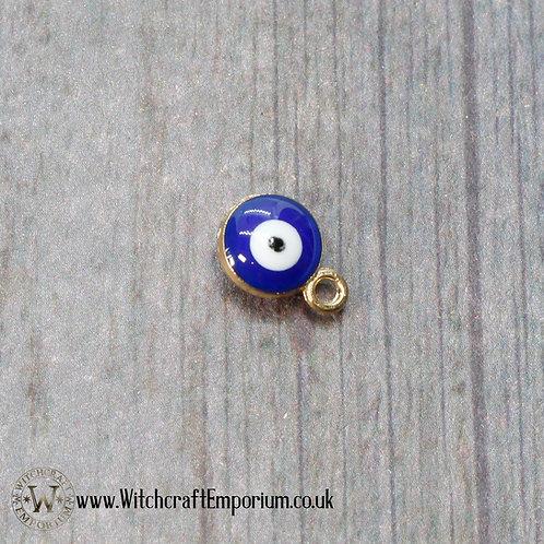 Evil Eye Gold Charm