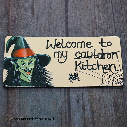 Welcome to my Cauldron Fridge Magnet
