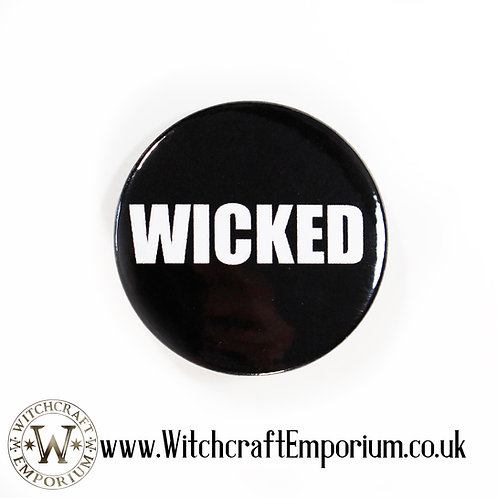 Wicked Minimal Badge