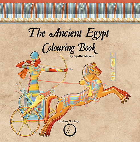 The Ancient Egypt Colouring Book