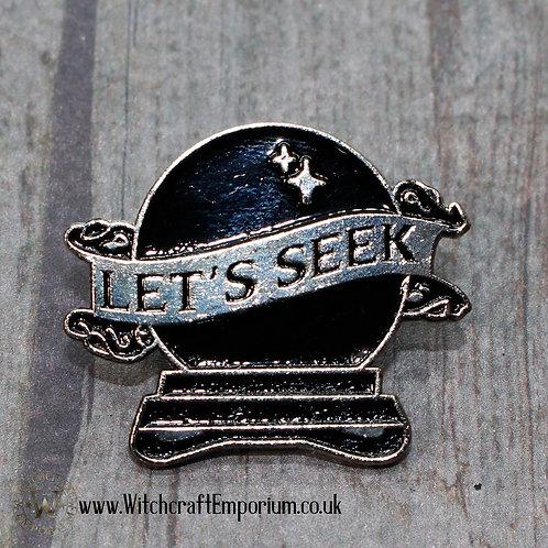 Let's Seek Pin
