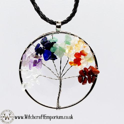 Tree of Life (Rainbow Chakras)