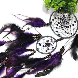 Mystic Feather Dream Catcher Wall Decora